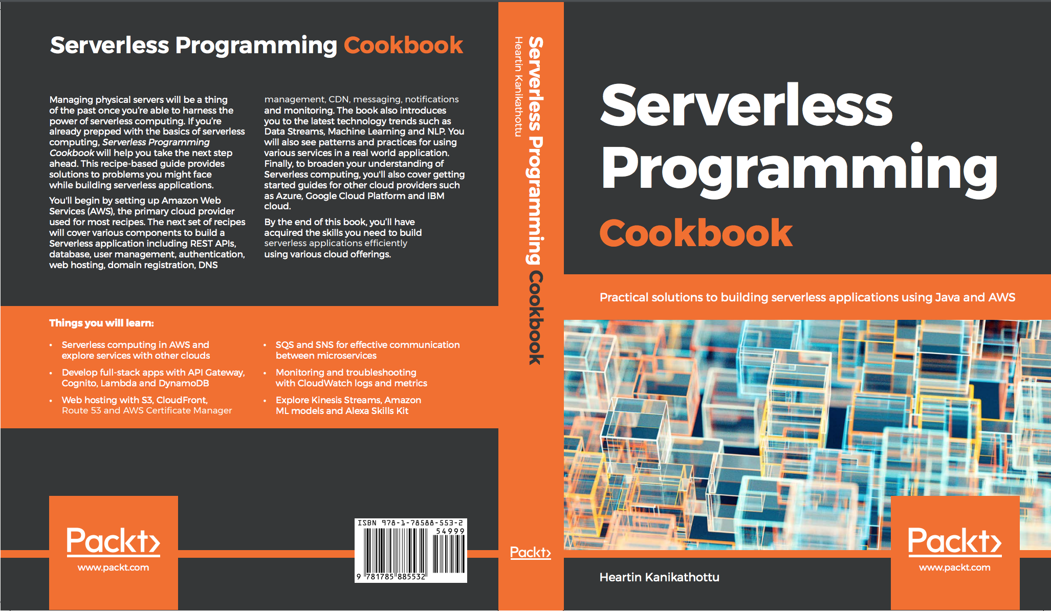 Serverless Programming Cookbook by Heartin Kanikathottu | Heartin tech